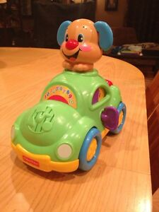 Fisher Price Puppy Car