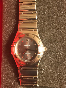 MY CHOICE CINDY CRAWFORD MINI OMEGA WATCH 1550$ OBO