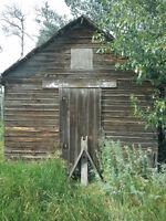 Wanted: Farm Fresh Barn Wood
