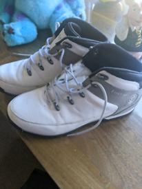 White Firetrap boots