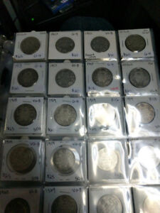 Canadian 50 Cent Coin Collection