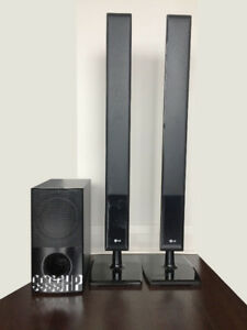 LG Speakers + Subwoofer - Audio Home Theatre