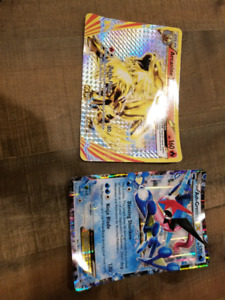 Large pokemon cards for sale