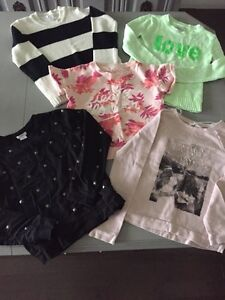 Girls Sweater Lot - Size 10, 5 Pieces