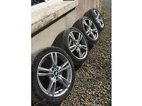 """Genuine Bmw Alloy Wheels 18"""" 5x120 (330d 320d etc)"""