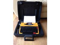 Brother deluxe typewriter 262 tr