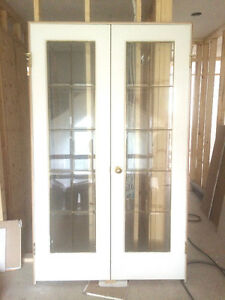 French door with frame