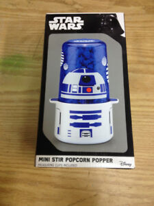 Star Wars Mini Popcorn Popper. NIB