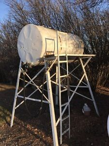 300gallon fuel tank and stand