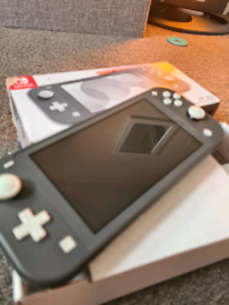 Nintendo switch lite grey