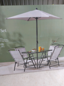 6 piece garden furniture set- brand new - 1 left.