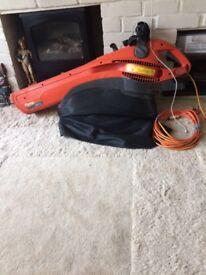 Flymo garden vacuum 2200 W.