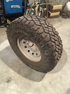Like new tires with wheels
