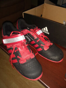 Adipower Weightlifting Shoes. Size 12. Like New.
