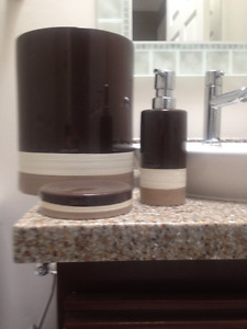 DKNY Bathroom Accessories- 20 or best offer
