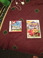 two ds games and case