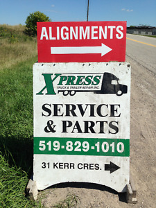 Alignments - Greases - Oil Changes - 3 Axle Trucks