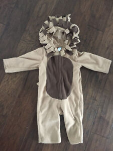 Lion Costume (Old Navy, 12-18 mos)