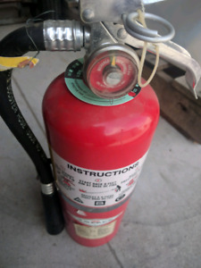Fire Extinguisher-General Purpose, class ABC, Full Content, Used
