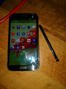 SAMSUNG HD NOTE PHONE GOOD SHAPE