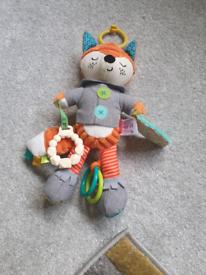 Baby sensory fox toy