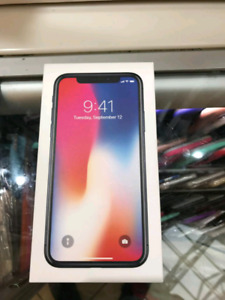 Iphone X 64gb Brand New condition