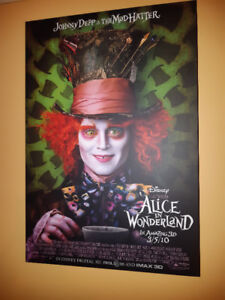 Alice In Wonderland (  2010)  Plaque Art