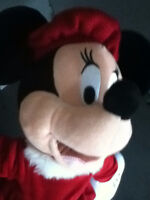 Disney's Minnie Mouse with red beret hat