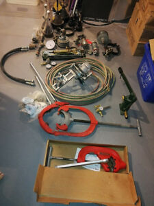 Piping Mechanical Equipment Lot