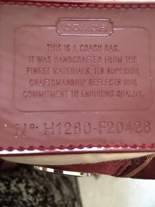 "Authentic Coach purse  for sale 16""x10""x5"" Kitchener / Waterloo Kitchener Area image 3"