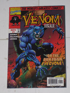 Marvel Comics Venom Finale#1 (1997) comic book