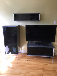 TV stand with two other cabinet