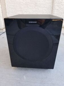 samsung front firing 8 inch subwoofer stereo system