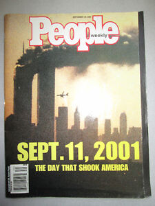 People Magazine September 11th 2001 The day that shook America West Island Greater Montréal image 1