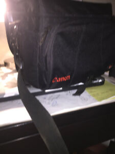 Canon T2i Camera, Carry Bag and Tripod For Sale $450