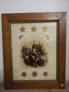 Antique 1800's Original Victorian Postmortem Photography Family