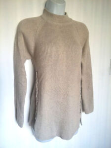 nwt Knit Sweater w.Lace-up Detail M