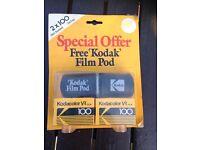 Kodak VR100 vintage twin pack