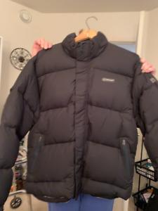 Manteau d'hiver pour hommes grandeur Medium  Timberland noir