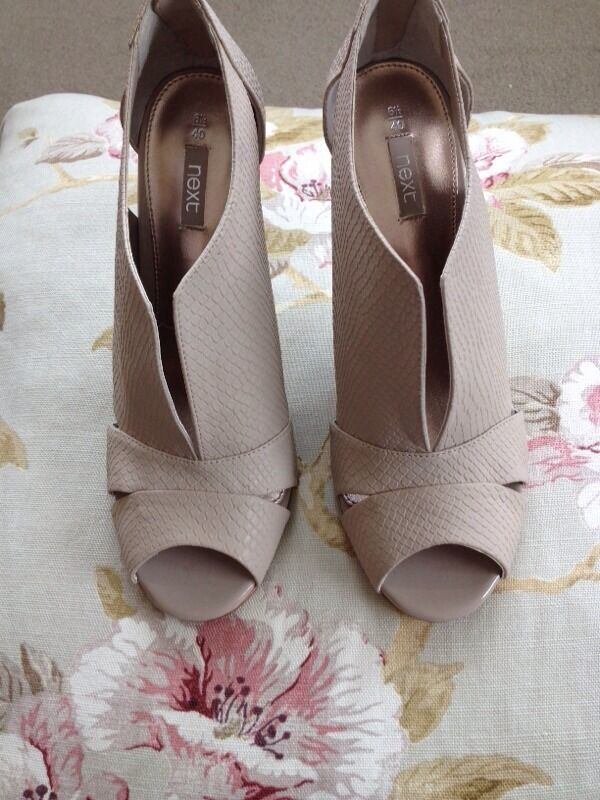 💕 Next nude heels size 6.5 40 💕 | in Corfe Mullen, Dorset | Gumtree