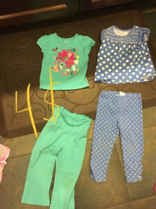 Girls clothes size 24 months