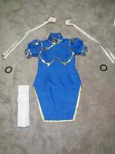 Chun Li cosplay costume from Street fighter 2