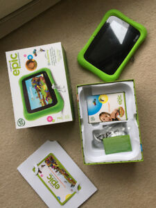 New LeapFrog Epic Academy Edition Kid's Tablet Toy