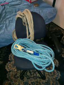 50ft and a 25ft safety ropes ($60 obo)