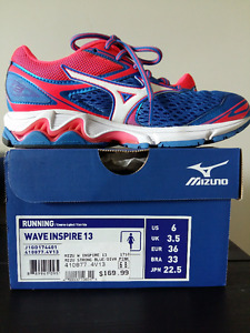 [Running Shoes] MIZUNO Women's Wave Inspire13 Size US 6