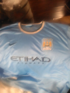 Manchester  city  soccer jersey