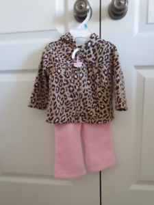 Infant Girls Fleece Set