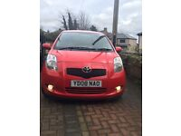 Toyota Yaris SR 1.3 2008 tinted windows and parrot