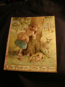 Bo Peep and Little Boy Blue c1890 child's collectible (Brighton)