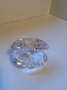Swarovski Shell with Pearl
